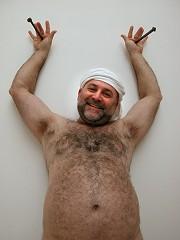 Norbert Attard self-portrait